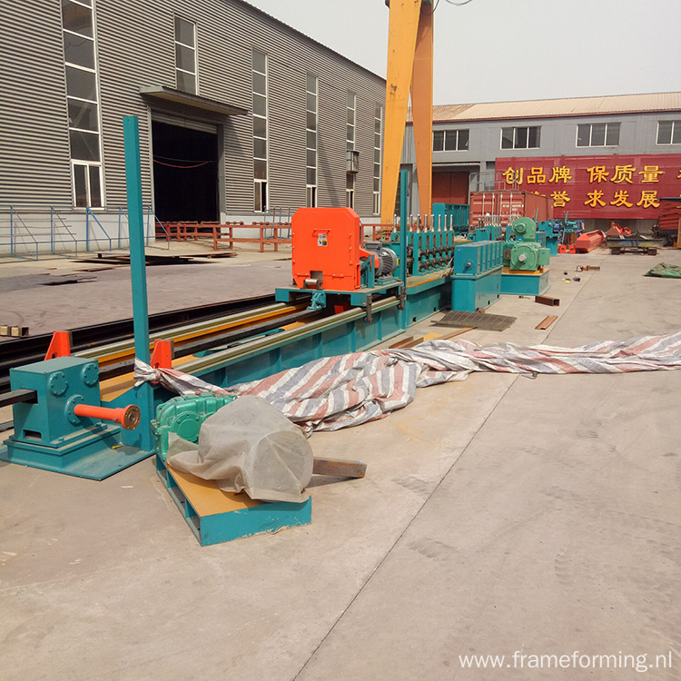 Carbon Steel Square Pipe Roll Forming Machine