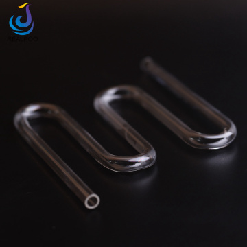 Custom Made Optical Glass OEM Quartz Tube