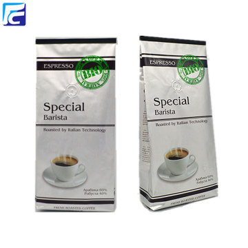 Custom printed coffee bags wholesale with valve