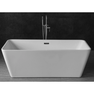 Rectangular custom Freestanding Acrylic Bathtubs