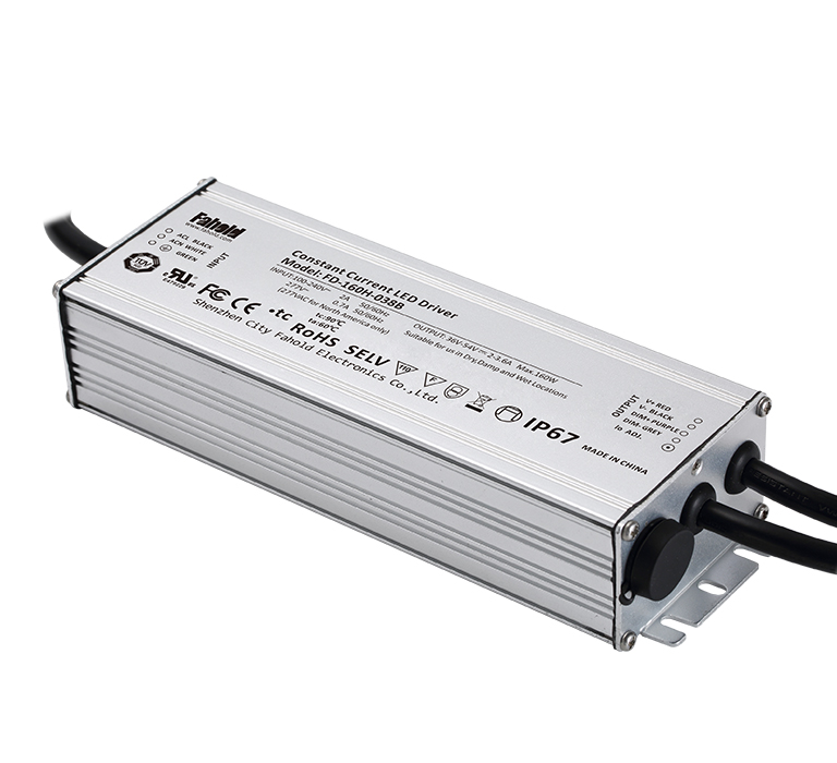 UL Listed IP67 LED Driver