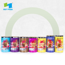 Custom Printed Plastic Food Packaging Roll Film