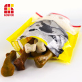Pet Jerky Treat Packaging Bags with Ziplock