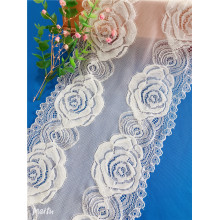 New Style Jacquard Rose Flower Lace for Underwear