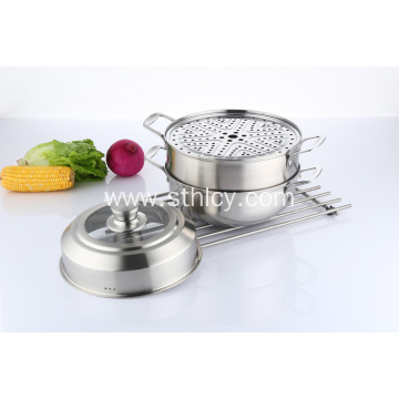 Electric Stainless Steel Seafood Steamer Pot
