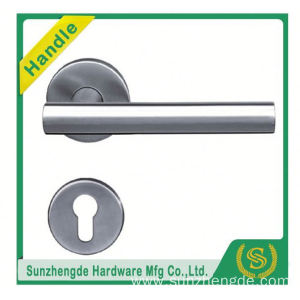 SZD STH-109 Hot Brand Quality Stainless Steel Cookware Entrance Door Handle With Square Rose with cheap price