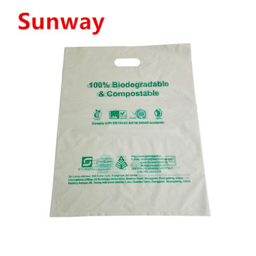 Printed Biodegradable Shopping Bags