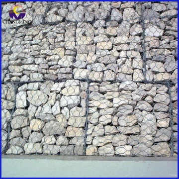 Reno Mattress with Rock Gabion