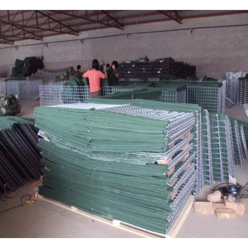 Gabion Rock Cages Defensive Container Barrier