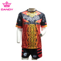 Custom Made Sublimated Rugby Shirt