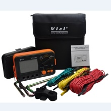 LCD Digital Earth Resistance Tester Ground Resistance Voltage Meter Lightning Rod Measuring Instrument Tools VICI VC4105A