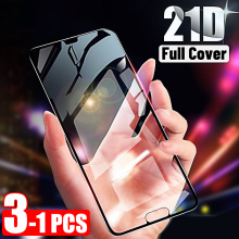 21D Screen Protector For Huawei P40 Lite P30 Pro Tempered Glass For Huawei P20 Pro P Smart Z Y6 2019 Mate 20 Pro Lite 30 Glass