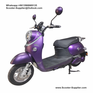 Yamaha Electric Bike Purple Color For Girl
