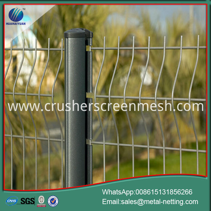 3D Welded Mesh Fence