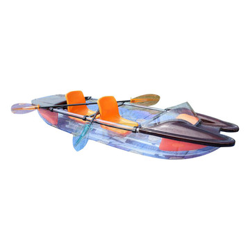Drop Clear Stitch Transparent Kayak