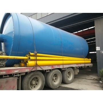 environmental waste tyre pyrolysis to fuel oil machines