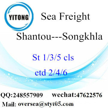 Shantou Port LCL Consolidation To Songkhla