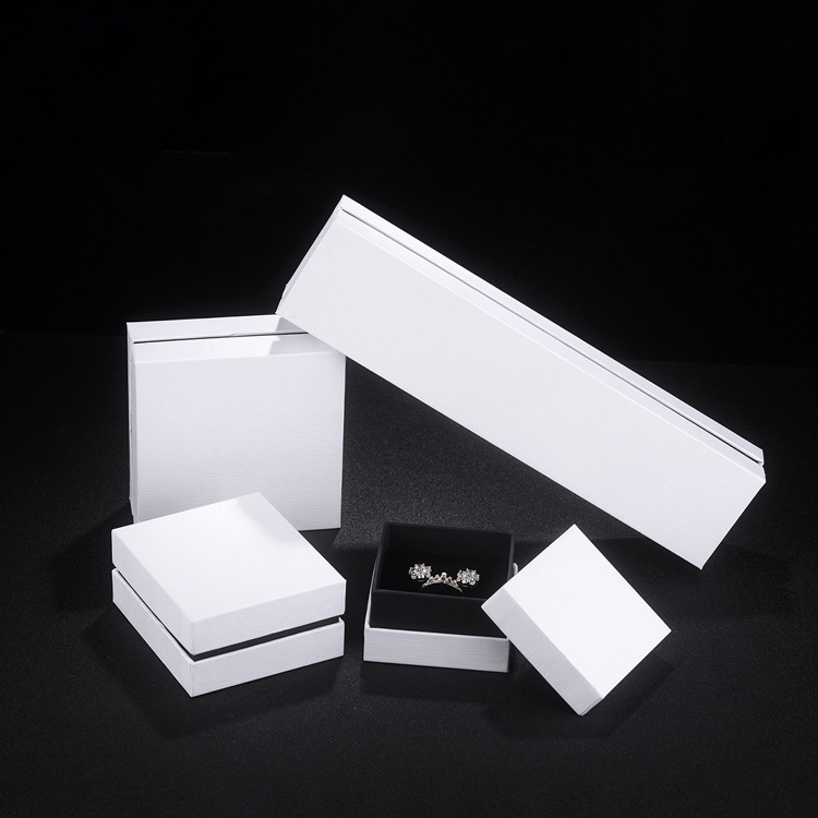 Lid and Base Jewelry Box Customized LOGO