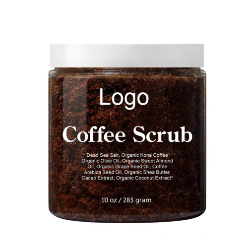 Oem Dead Sea Salt Coffee Exfoliating Body Scrub