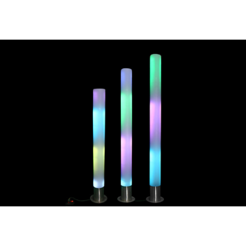 PE luminous column colorful interactive touch luminous