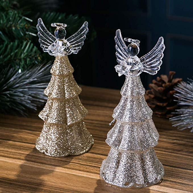 Led Glass Angel