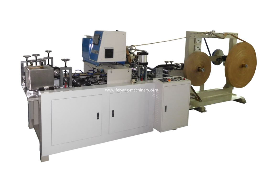 2 in 1 paper handle making machine