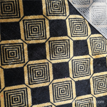 Quality Knitted Print African Velvet Curtain Fabric