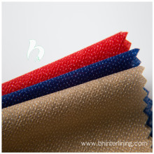 PA/PES coating nonwoven garment interlining and lining