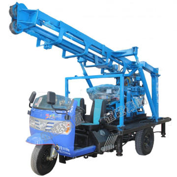 160m Tricycle Water Drilling Rig