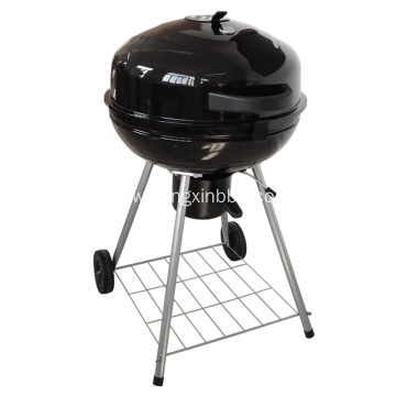 22.5 Inch Kettle Glossy Porcelain Charcoal Grill