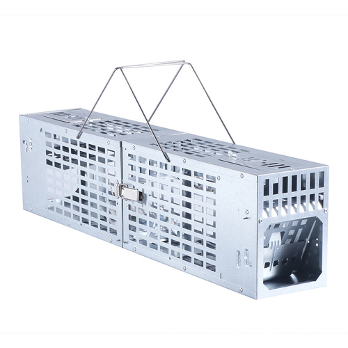 Humane Multi-Catch Galvanized Iron Rat Mouse Trap Cage