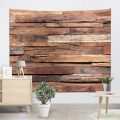 Vintage Planks Tapestry Wall Hanging Horizontal Plank Wooden Board Wall Tapestry for Livingroom Bedroom Dorm Home Decor