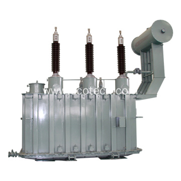 Oil immersed power transformer