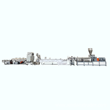 Plastics Modification Twin Screw Extruder Pelletizing Line