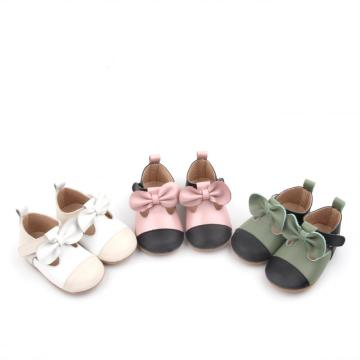 New Bow Infant Baby Girl Dress Party Shoes