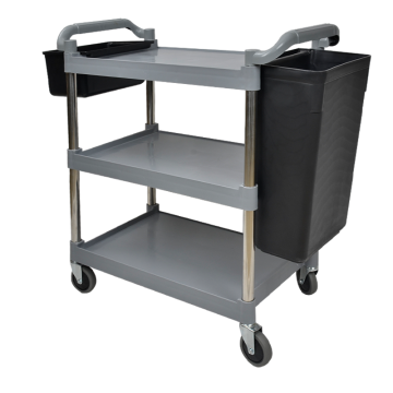 Three Layers Plastic Service Trolley