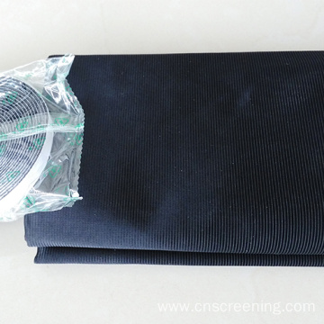 Anti-pollen polyester insect screen