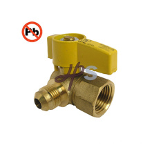 Lead Free Material Brass Gas Ball Valve