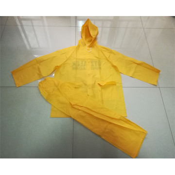 Waterproof Pvc Uniform Rain Suits Raincoat