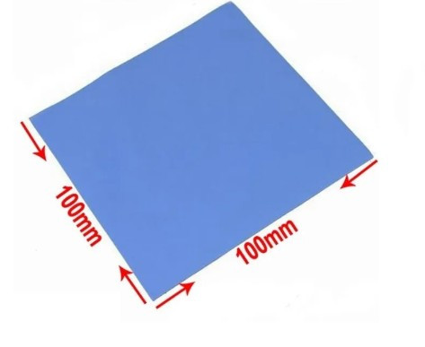 High thermal conductivity silicone sheet, electronic component gap filling heat dissipation patch 500 pcs