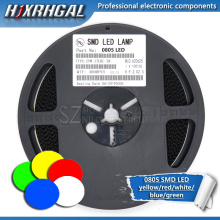 1Reel 3000pcs 0805 SMD LED diodes light yellow red green blue White new and original hjxrhgal