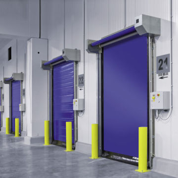 Electric Fabric High Speed Door