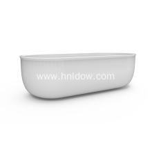 Free Standing Acrylic Back To Wall Tub
