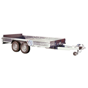 Complete Box Trailer For Dump Transport