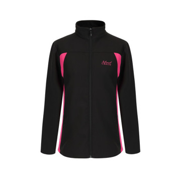 Ladies Softshell Zip Jacket