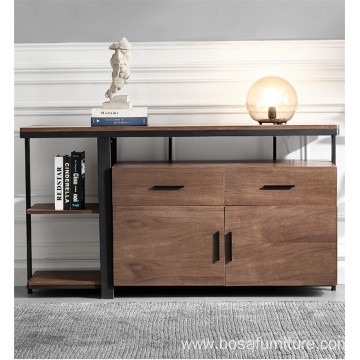 Light industrial style sideboard