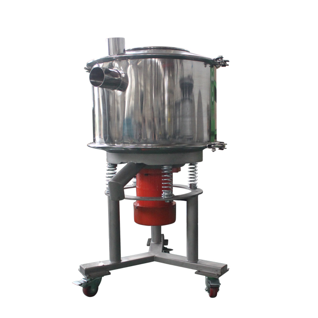 Easy to clean high frequency sifter/screen