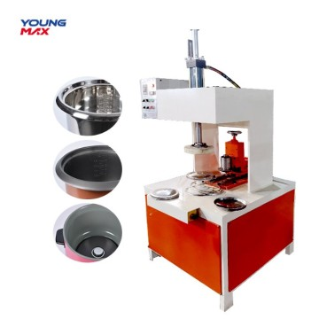 SS flanging  metal product hydraulic crimping machine
