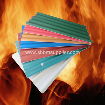 No-asbestos Corrosion-resistant Fireproof MgO Roofing Sheets