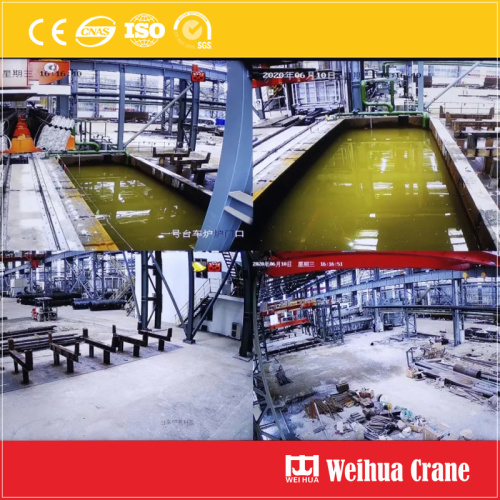 Intelligent Quenching Overhead Crane